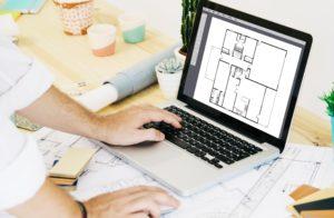 travail architecture 2D